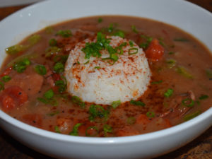 Green Onion Sausage Gumbo - Cajun Recipes